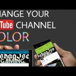 How to Change YouTube Channel Color