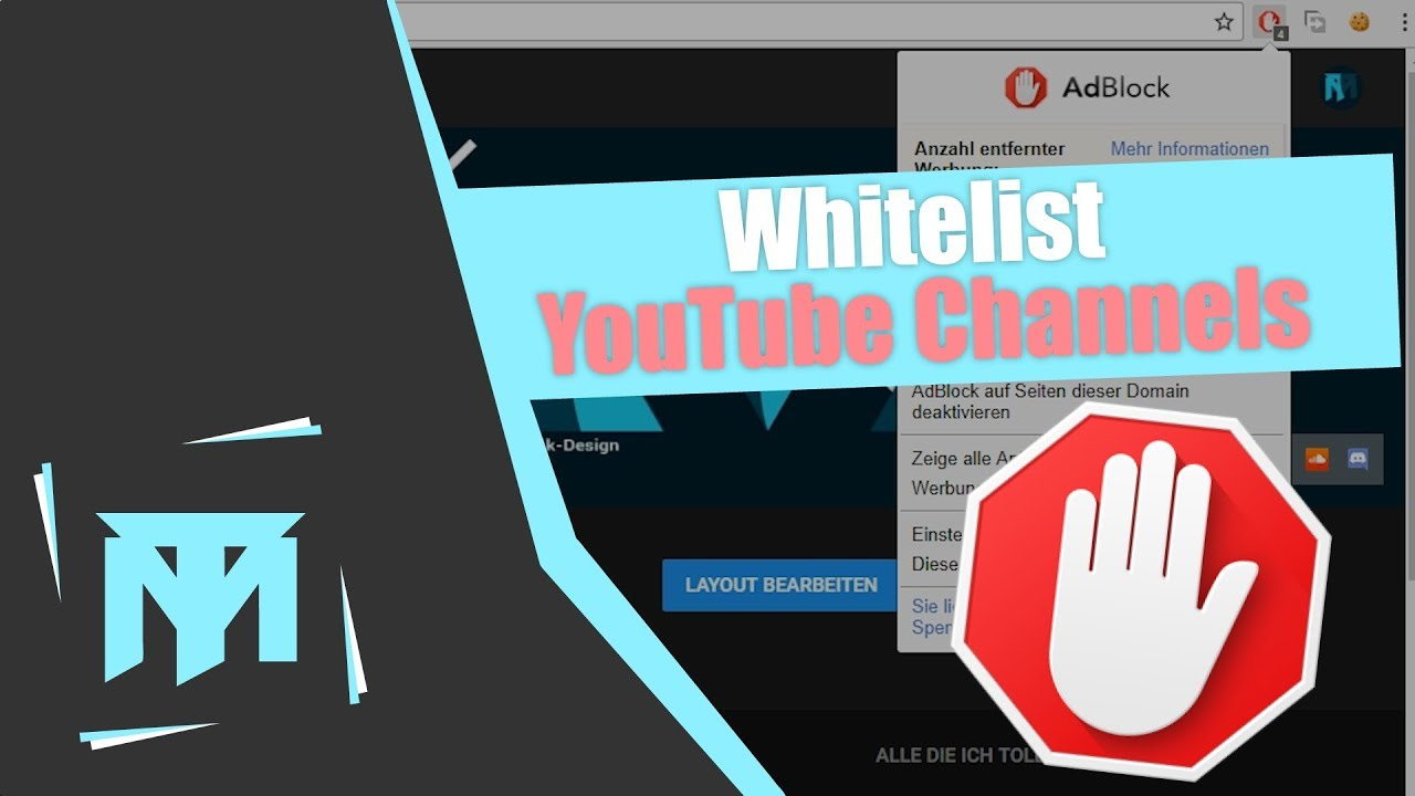 How to Whitelist YouTube Channels on Ad Block Plus