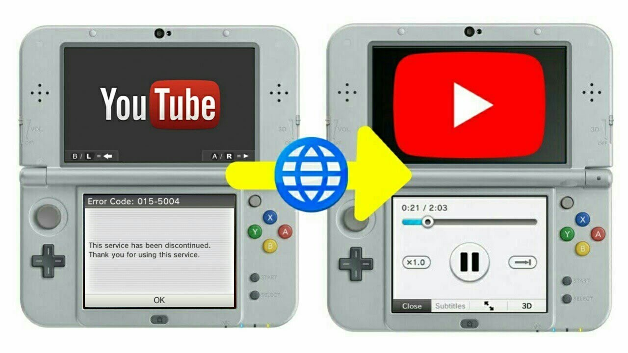 How to watch youtube on 3ds