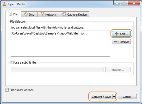 mute-youtube-video-vlc-step2