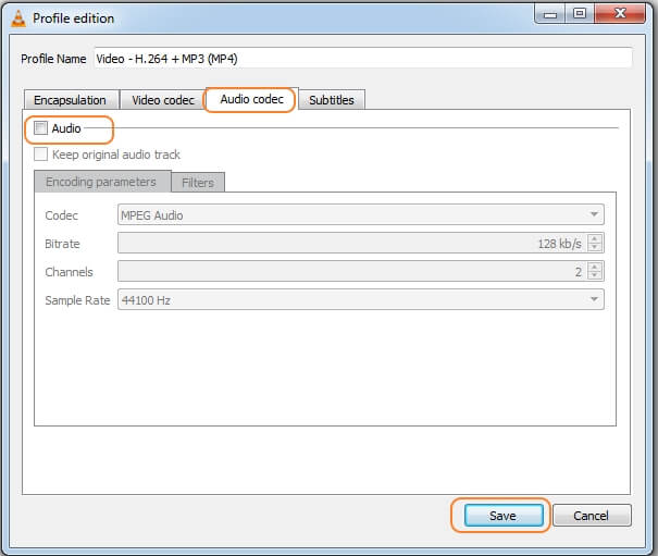 mute-youtube-video-vlc-step4