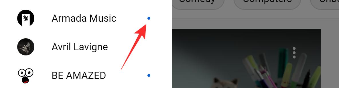 A Blue Dot on YouTube
