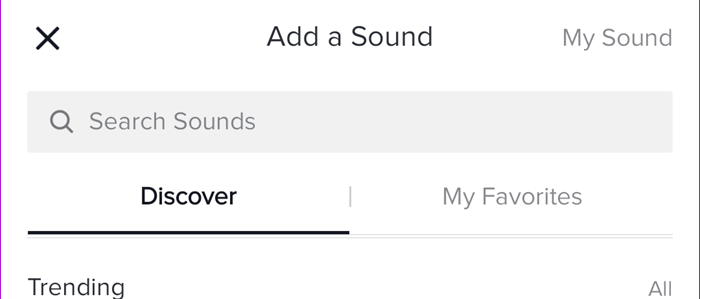 Add Your Own Sound on TikTok