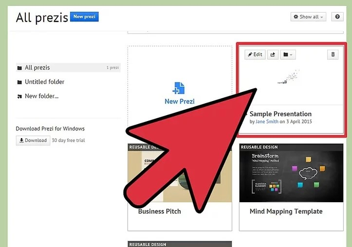 Embed Youtube Video in Prezi Step 3