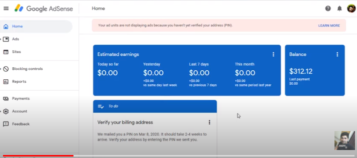 How to check YouTube earnings in AdSense