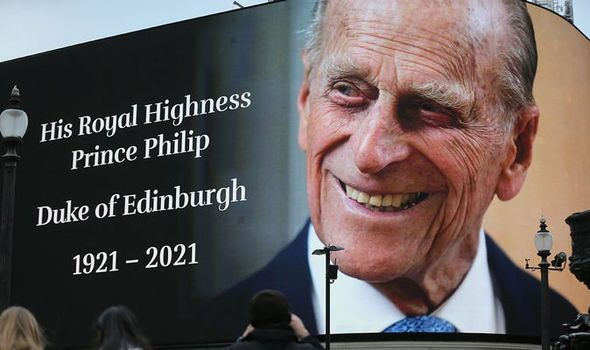 death of Prince Philip, Duke of Edinburgh