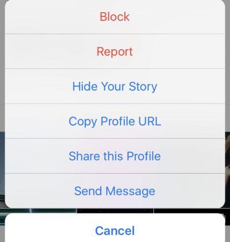 Copy Profile URL