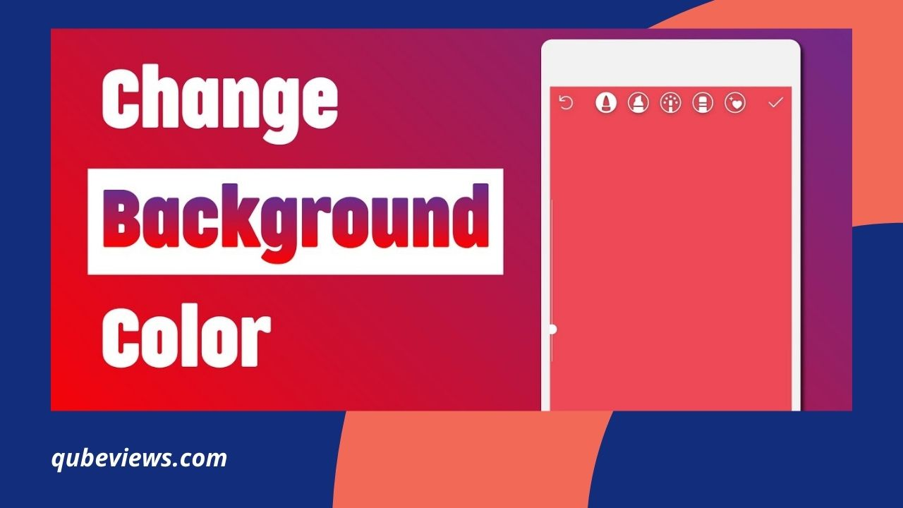 How to Change Background on Instagram Story?