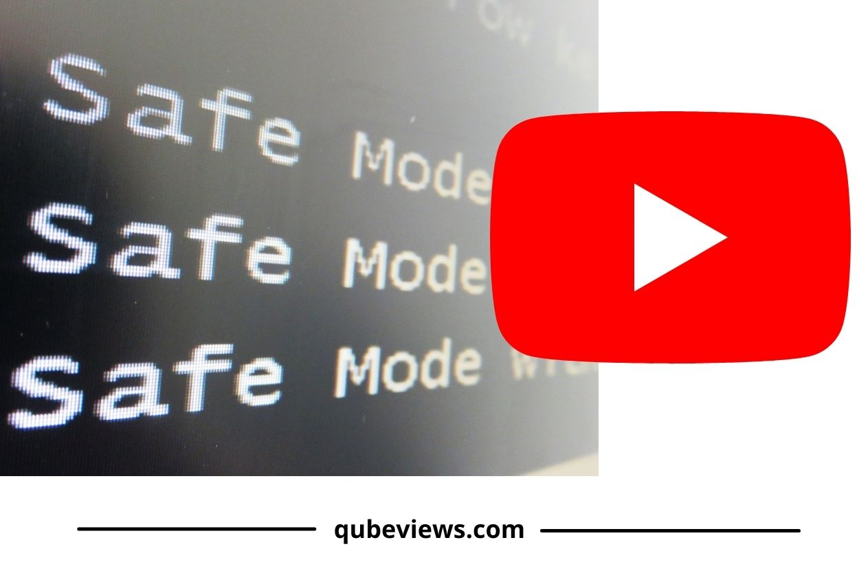 How do you disable safety mode on YouTube?