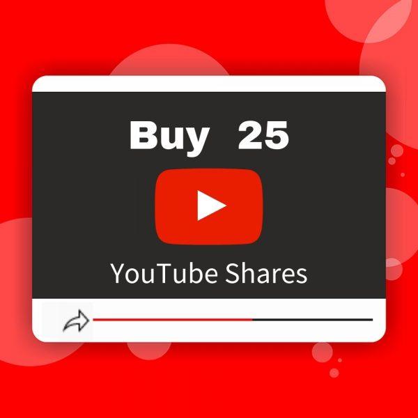 Buy 25 YouTube Shares
