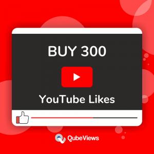 Buy 300 YouTube Likes