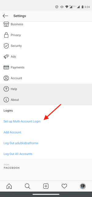 Connect Multiple Instagram Accounts