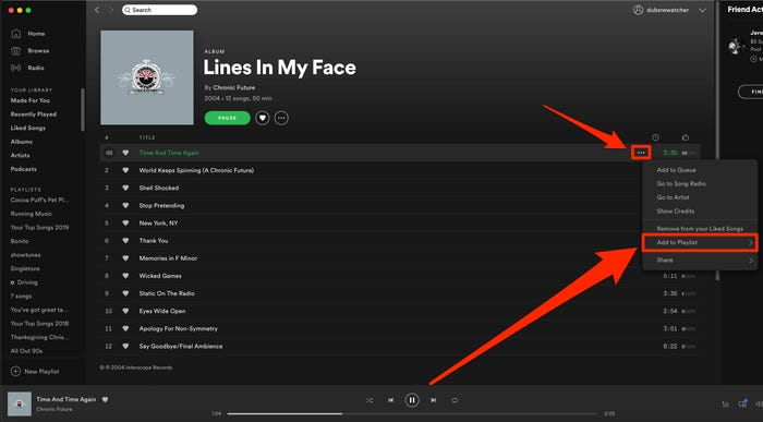 Add Local Files to Spotify Step 1