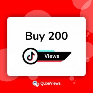 Buy 200 TikTok Views