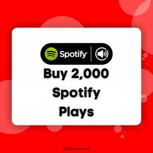 Buy 2000 Spotify Plays