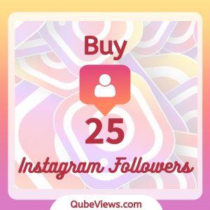 Buy 25 Instagram Followers