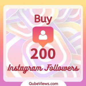 Buy 200 Instagram Followers