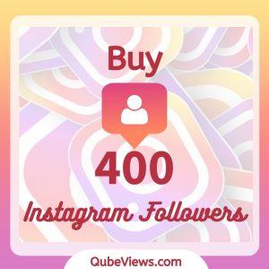 Buy 400 Instagram Followers