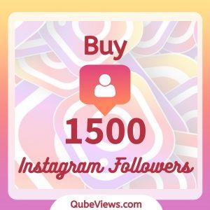Buy 1500 Instagram Followers