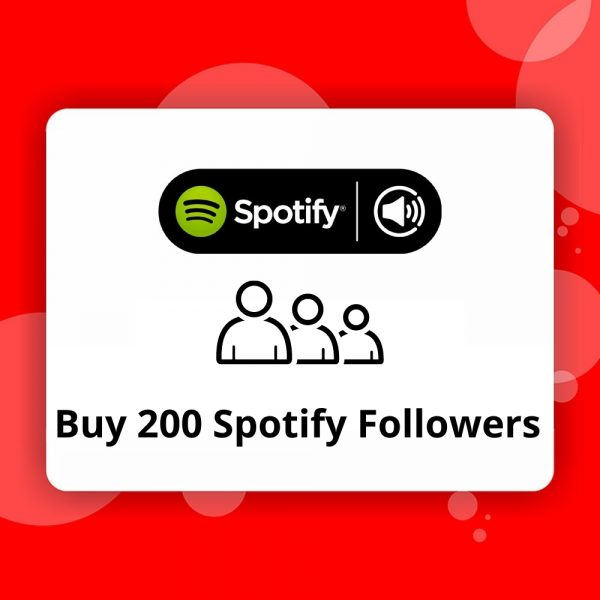 Buy 200 Spotify Followers