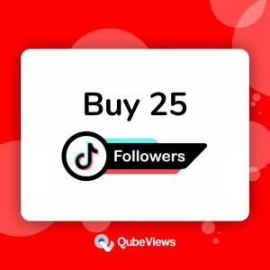 Buy 25 TikTok Followers