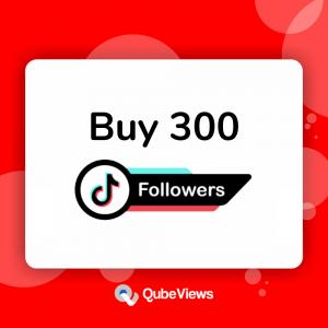 Buy 300 TikTok Followers