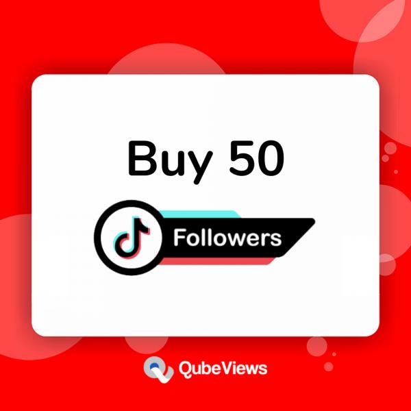 Buy 50 TikTok Followers
