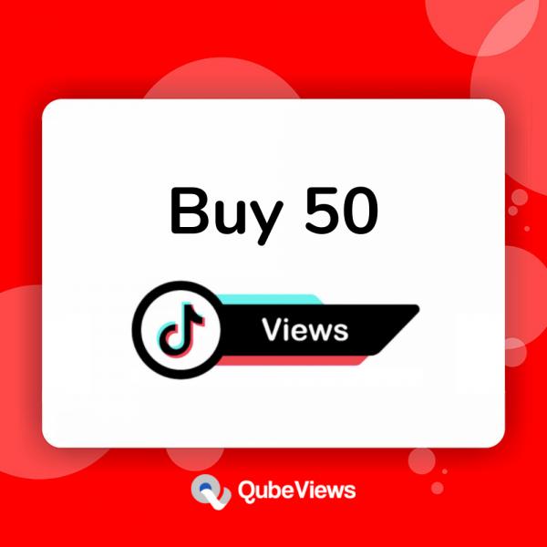 Buy 50 TikTok Views