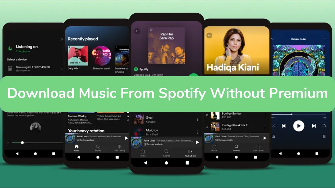 How to Download Spotify Music On Android Without Premium Version?