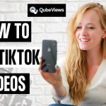 How to edit your tiktok?