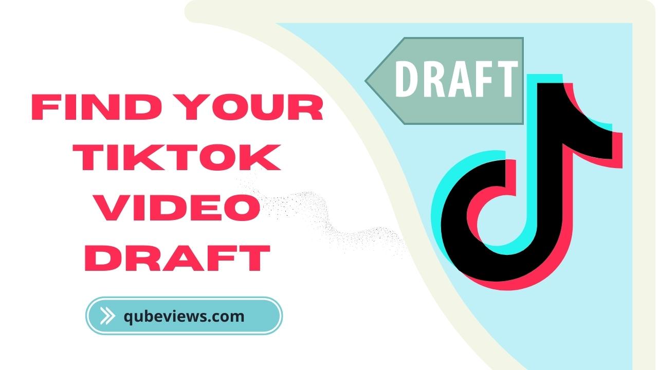 Where are my drafts on Tiktok?